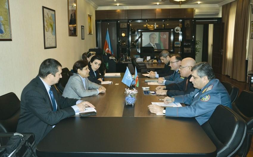 Dövlət Gömrük Komitəsində BMT nümayəndələri ilə görüş keçirilib