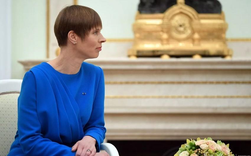 Estoniya prezidenti Finlandiya baş nazirinə üzrxahlıq edib