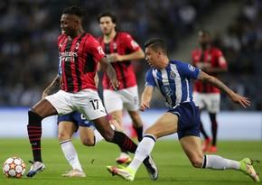 Милан установил антирекорд в Лиге чемпионов