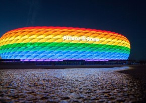 UEFA stadionun göy qurşağına bürünməsinə icazə vermədi