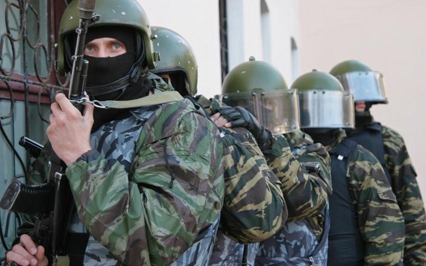 Rusiya ordusu Dağıstanda təlim keçirib