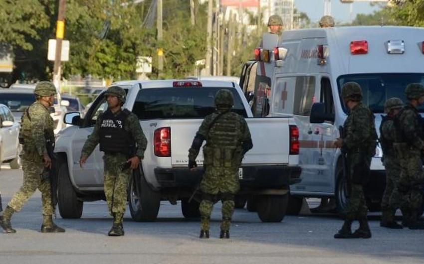 Meksikada silahlı hücumlar zamanı 14 nəfər öldürülüb