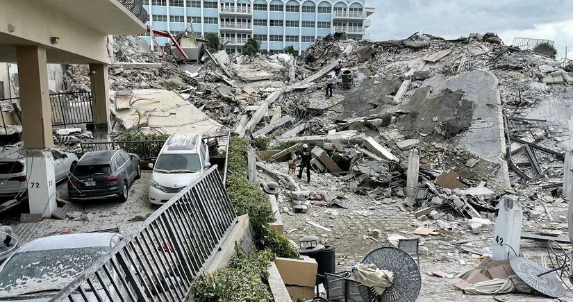 Судьба 159 человек остается неизвестной после обрушения дома во Флориде