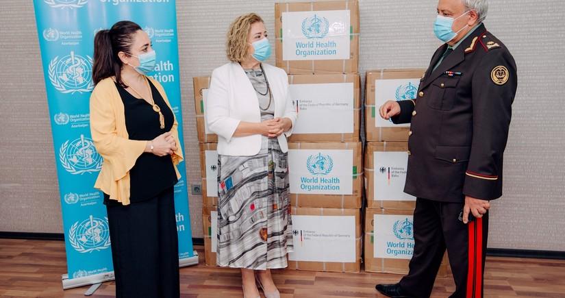 WHO donates 300,000 medical masks to Azerbaijani Justice Ministry