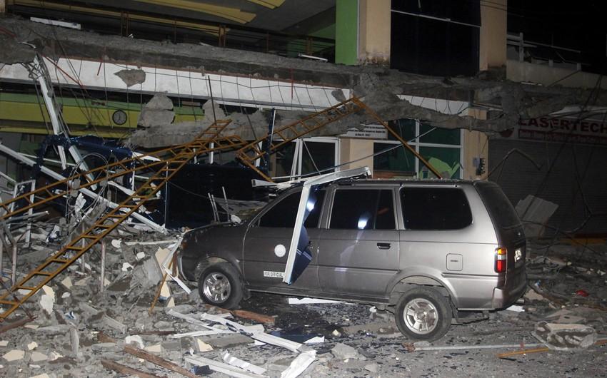 Filippində zəlzələ nəticəsində 15 nəfər ölüb