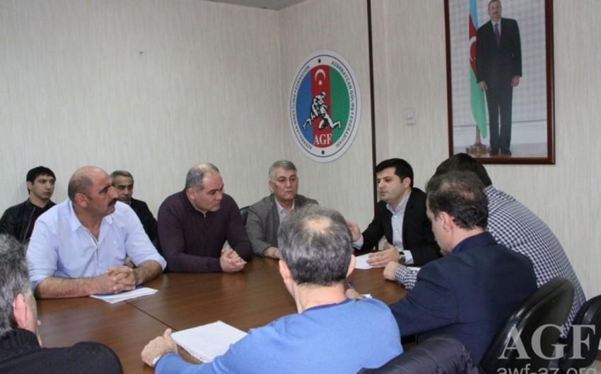 Azərbaycan güləşçilərinin davranışı federasiyada müzakirə olunub