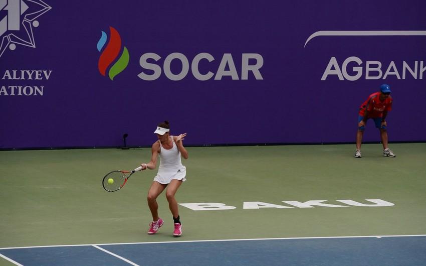 """""""Baku Cup – 2015"""" Beynəlxalq tennis turnirinin altıncı günü başa çatıb"""