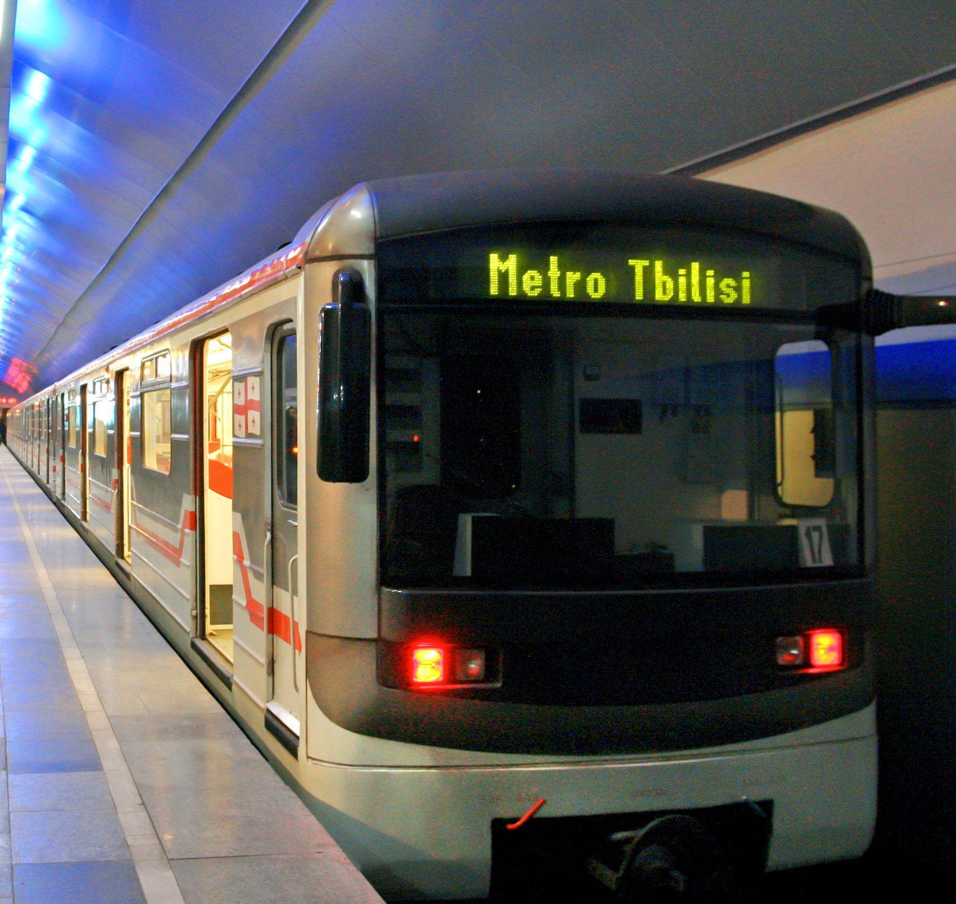 В Тбилиси откроется новая станция метро