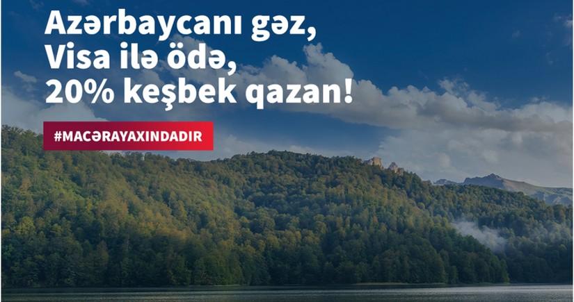 """""""Kapital Bank""""ın """"Visa"""" kartları ilə """"Macəra yaxındadır"""""""