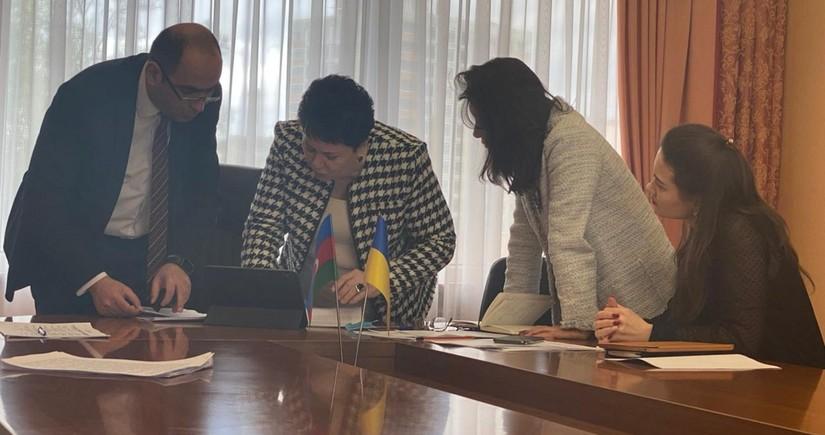 """Ukraynada tələbələr arasında """"Heydər Əliyev: Liderlik fenomeni"""" adlı müsabiqə keçirilib"""
