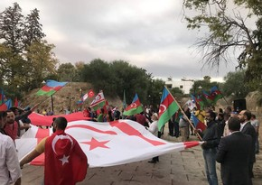"""Şimali Kiprdə  """"Azərbaycan üçün birlikdəyik"""" adlı aksiya keçirilib"""
