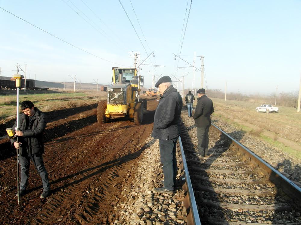 Начат ремонт железнодорожного участка Алабашлы-Гянджа