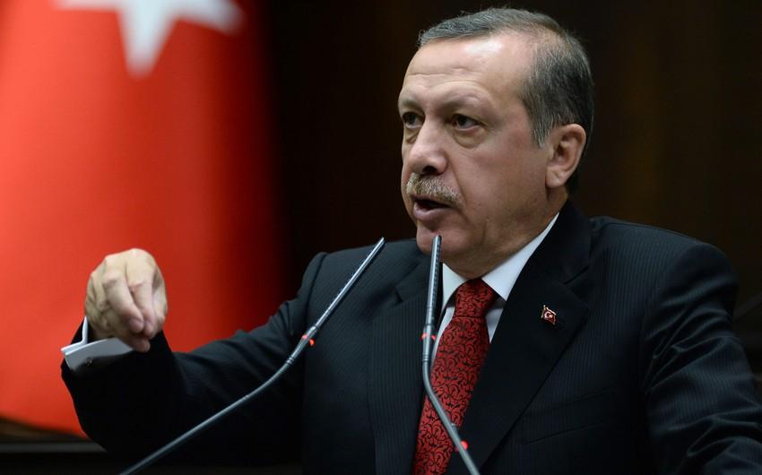 Türkiyə prezidenti: Bizim soyqırım kimi bir ləkəmiz yoxdur
