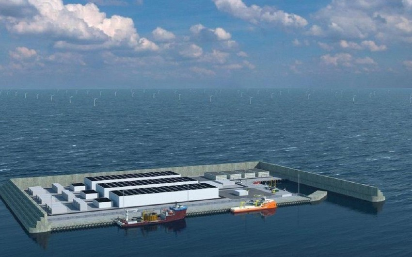 Denmark to build energy hub on artificial energy island