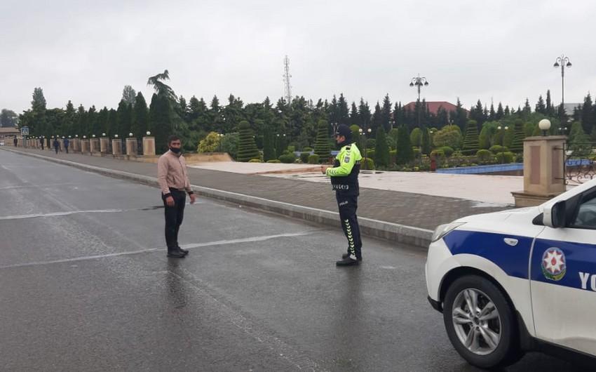 Yol polisi Göygöldə reyd keçirib