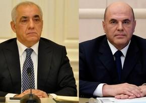 Премьер-министр Али Асадов выразил соболезнования Михаилу Мишустину