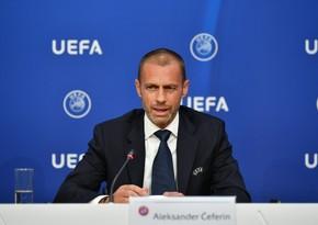 UEFA President speaks about Nagorno-Karabakh conflict