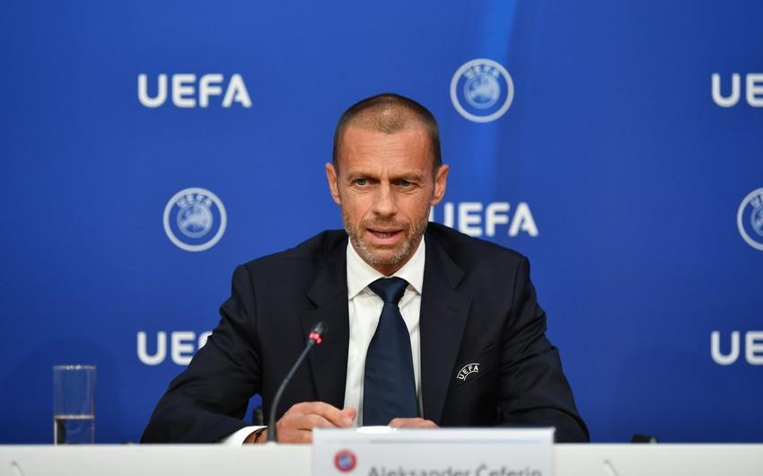 UEFA prezidenti Dağlıq Qarabağ münaqişəsindən danışdı -