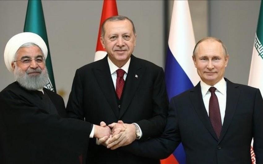 Rusiya, İran və Türkiyə liderlərinin növbəti görüşü Tehranda baş tutacaq