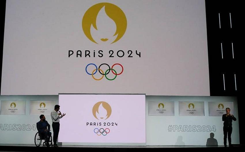 В Париже представлен новый логотип Олимпийских Игр 2024 года - ФОТО