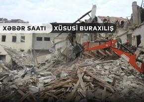 """""""Xəbər Saatı"""": Xarici diplomatlar erməni vandalizminin şahidi oldular"""