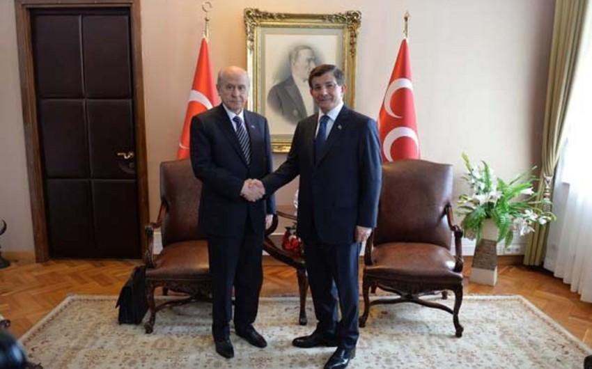 Türkiyədə koalisiya hökumətini qurmaq yenə mümkün olmayıb