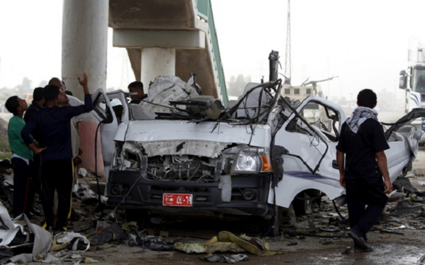 A series of terrorist attacks rock Baghdad and environs