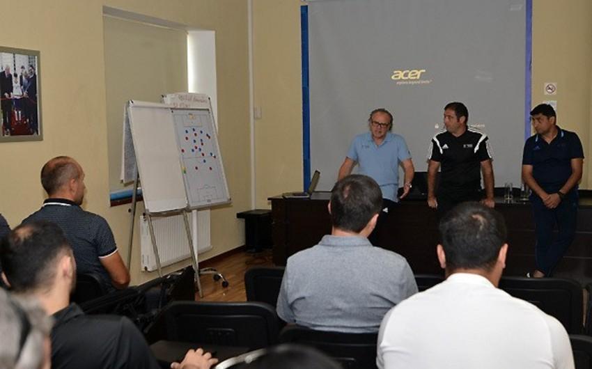 Bakıda UEFA-nın Pro kateqoriyalı məşqçi kursunun daha bir moduluna start verilib