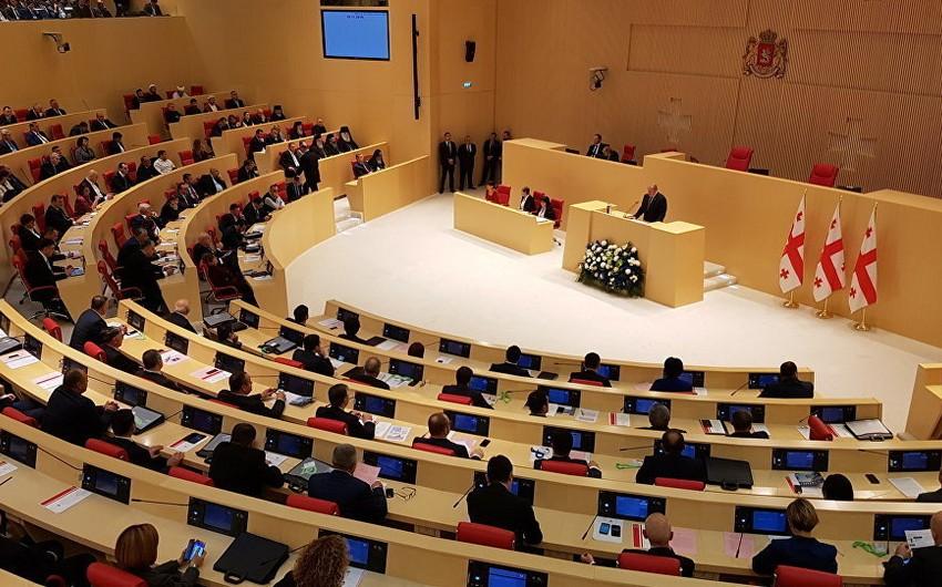 В парламенте Грузии произошла драка - ВИДЕО