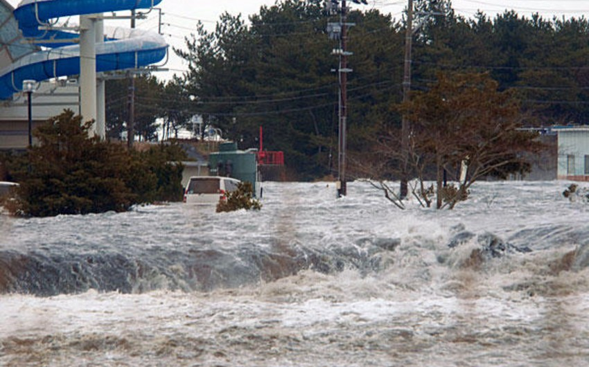 Japanese authorities evacuated 80 people from the flooded city