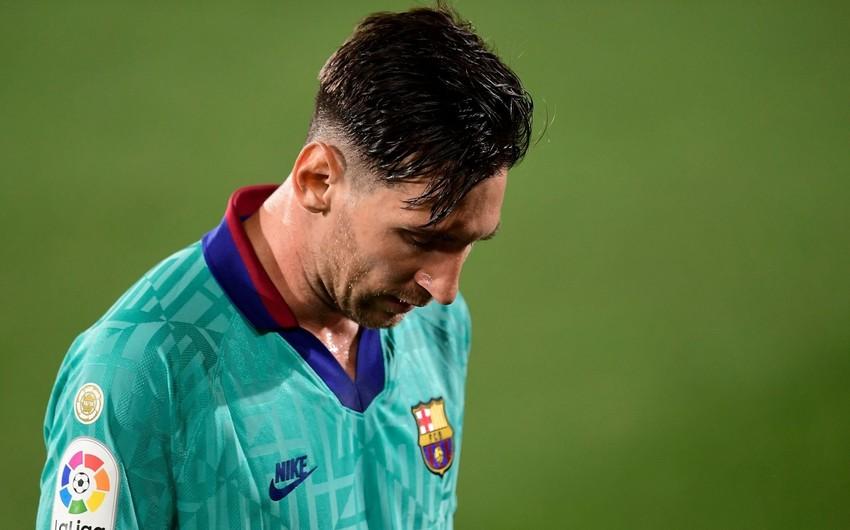 Messi testindən keçdi -