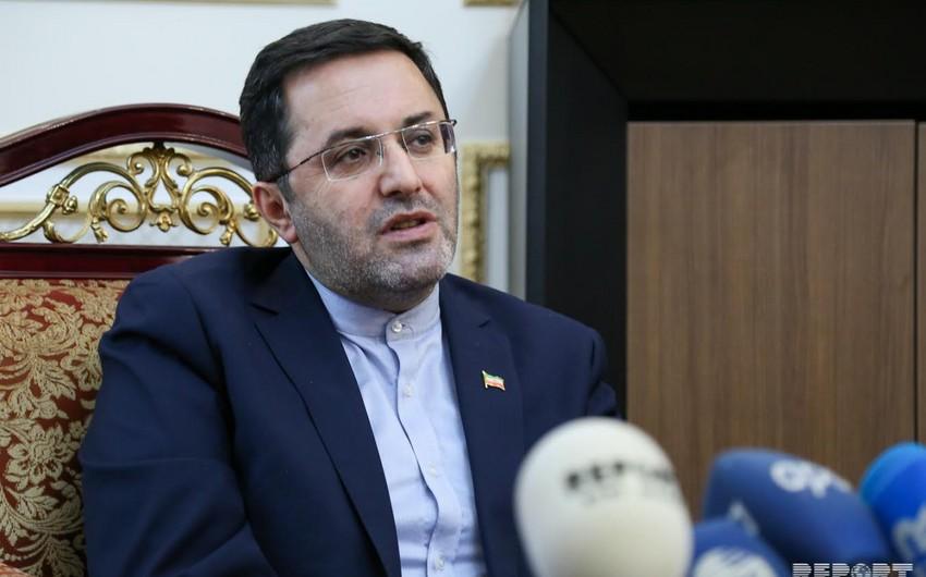 Səfir: Azərbaycan-İran Hökumətlərarası Komissiyasının iclası ilin sonunadək keçiriləcək