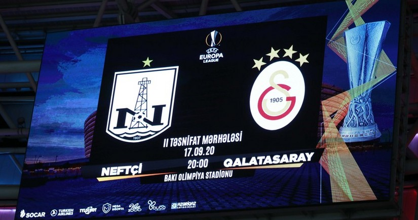 Europa League: Neftchi to play with Galatasaray today