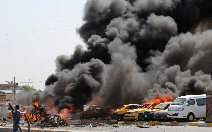 İraqda iki partlayış nəticəsində 20 nəfər ölüb