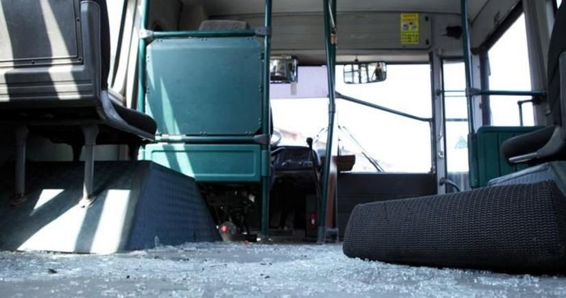 В Баку столкнулись два пассажирских автобуса