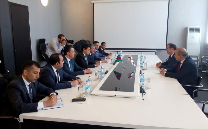 Fuad Muradov Gürcüstanın təhsil naziri ilə görüşüb