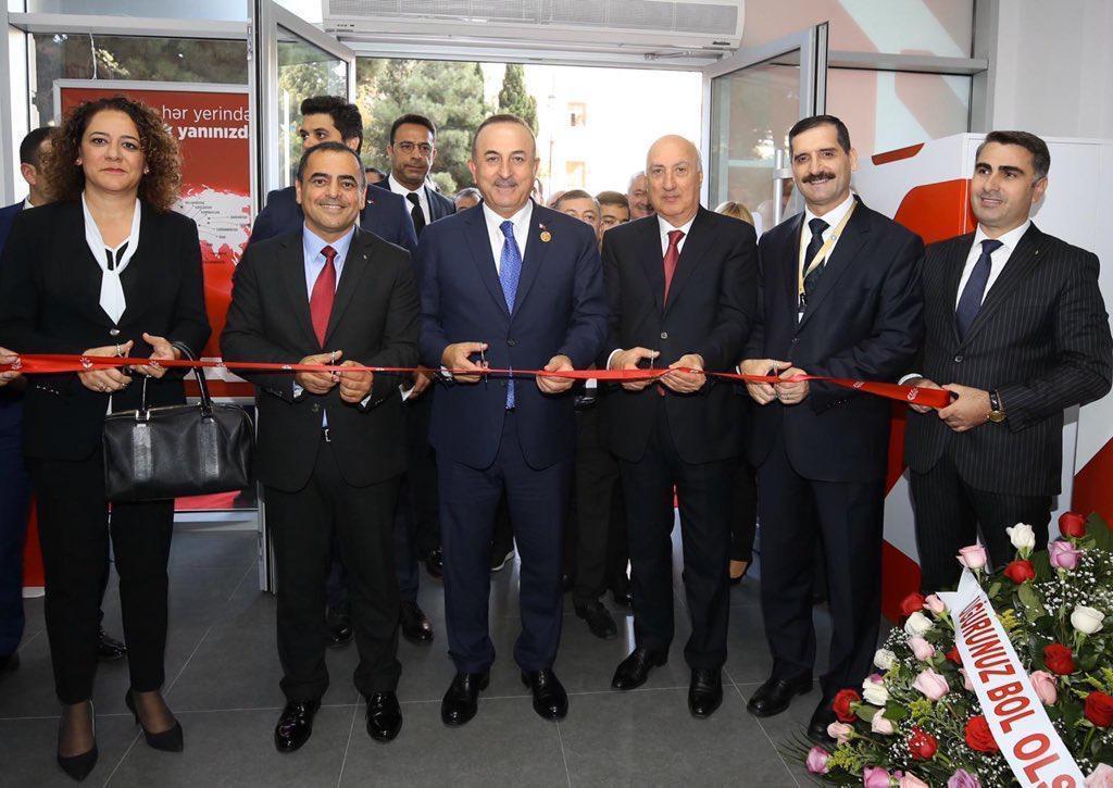 """Ziraat Bank Azərbaycan""""ın 4-cü filialı fəaliyyətə başlayıb"""