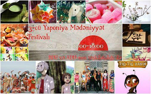 Baku will host Third Japanese Culture Festival