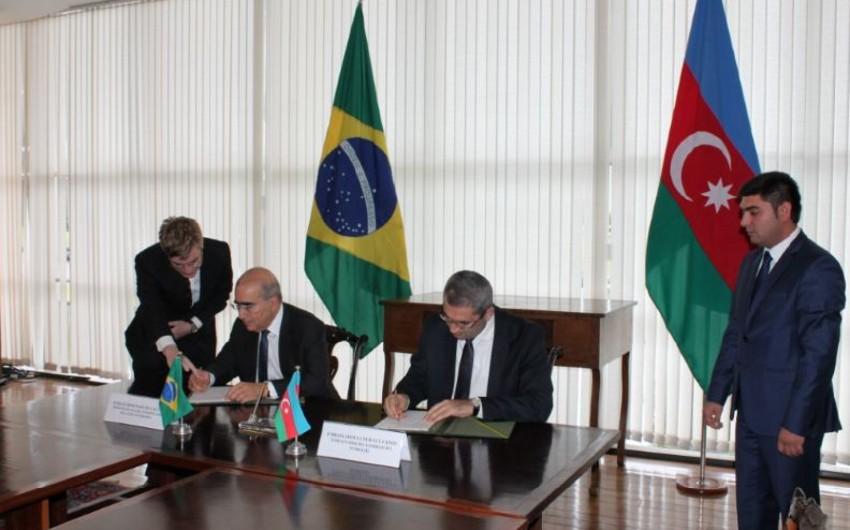 Azərbaycan və Braziliya arasında ticarət və investisiya sahəsində memorandum imzalanıb