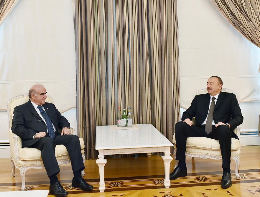 Президент Ильхам Алиев принял министра иностранных дел Мальты