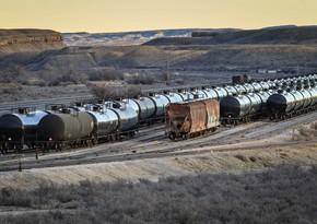 Neft Emalı Zavodunun istehsalı olan bitum dəmir yolu ilə Ukraynaya gedir