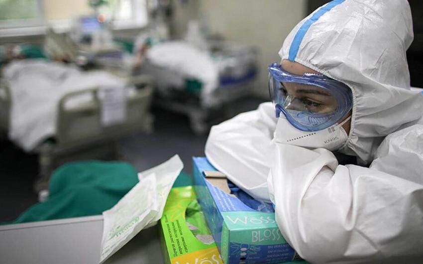 Rusiyada daha 12 953 nəfərdə koronavirus aşkarlanıb