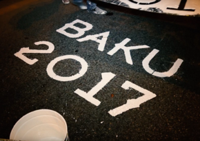Baku launches games lane marking for IV Islamic Solidarity Games - VIDEO REPORT