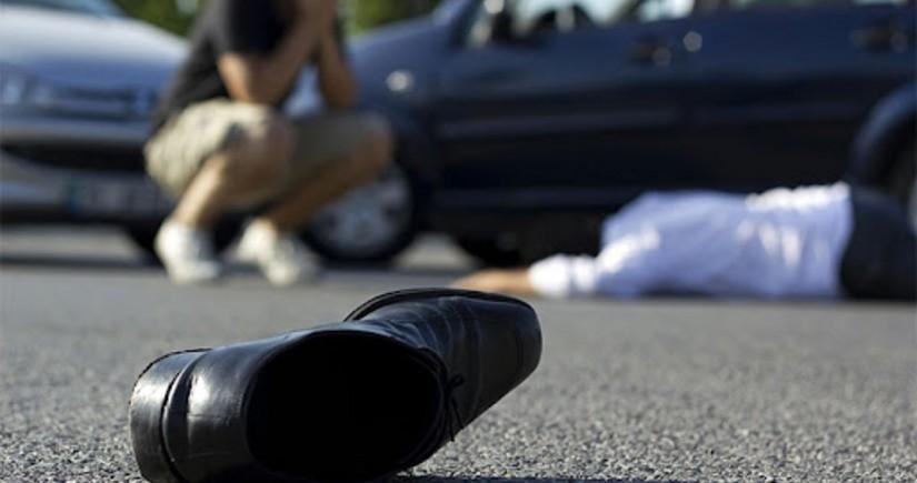 Gəncədə 55 yaşlı piyadanı avtomobil vuraraq öldürüb