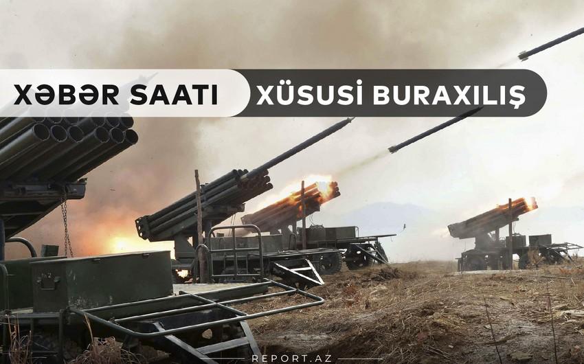 """""""Xəbər Saatı"""": Tərtər mərmi atəşinə tutulur"""