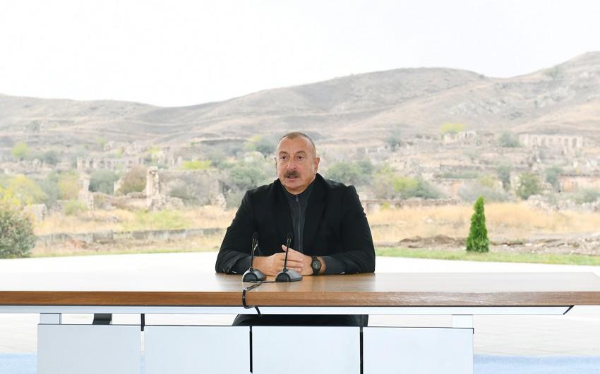 Deputat: Prezident İlham Əliyev Araz çayının kənarında tarixi bəyanatlar verdi