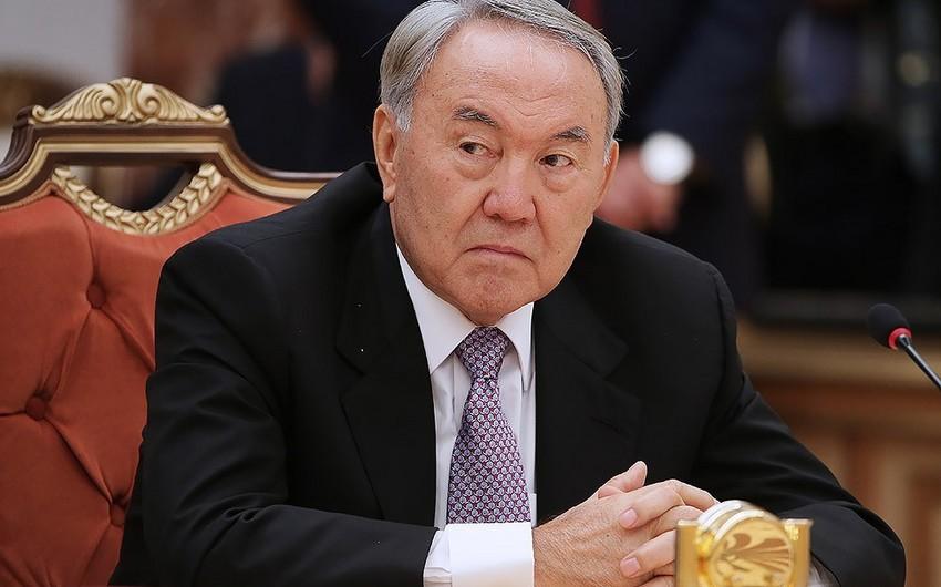 Nursultan Nazarbayev istefa verib