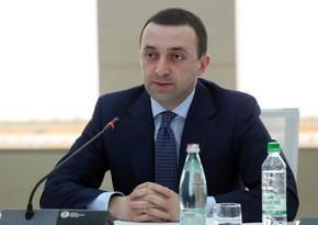 """Qaribaşvili: """"Azərbaycanla əməkdaşlığın genişləndirilməsi üçün intensiv dialoq aparılır"""""""
