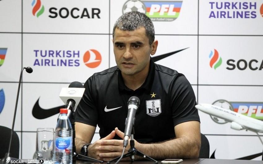 """""""Neftçi""""nin baş məşqçisi: """"Bəzi futbolçular tapşırıqlarımı maksimum yerinə yetirmədilər"""""""