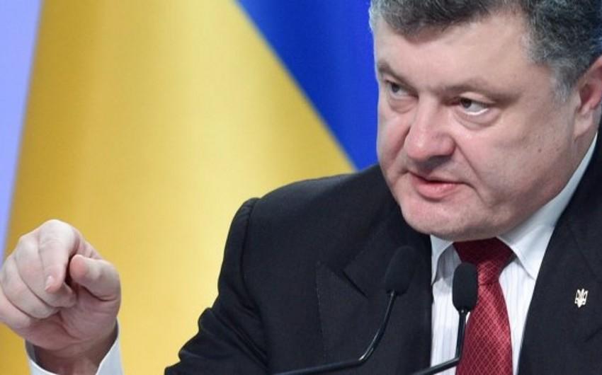 Ukrayna prezidenti: Rusiyanın Ukraynaya qarşı təcavüzü dünya görüşünün müharibəsidir